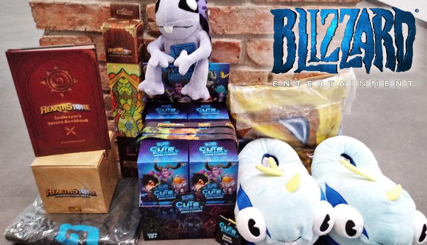 Konkurs wygraj gadżety do Blizzarda