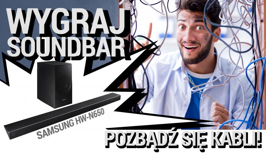 Wygraj Soundbar Samsung