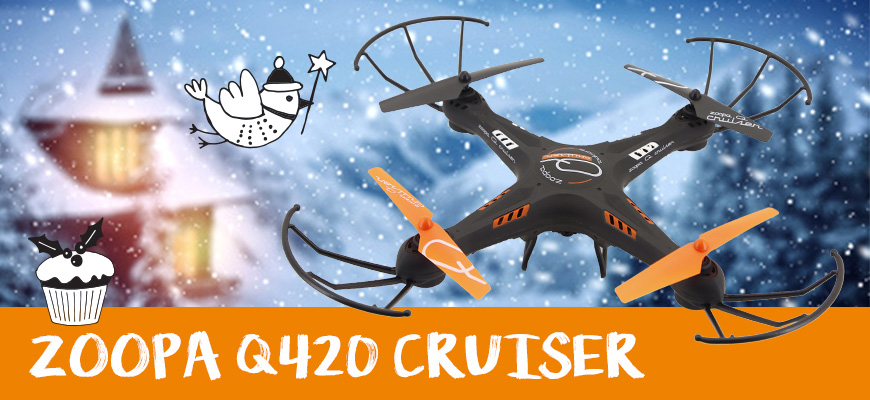 multicopter Zoopa Q420 Cruiser