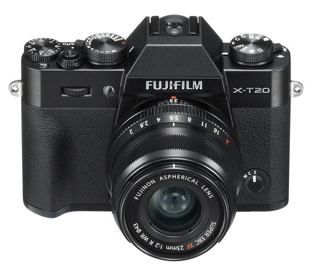 Fujifilm X-T20 widok góra przód