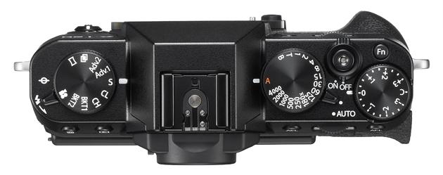 Fujifilm X-T20 widok góra