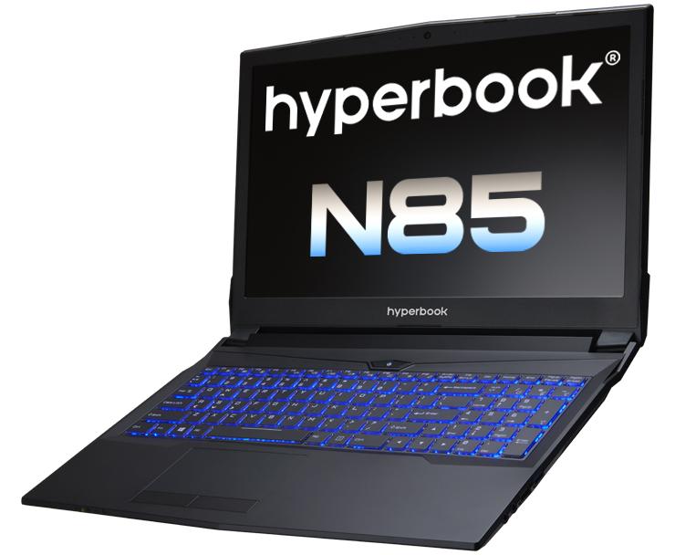 Hyperbook N85 laptop