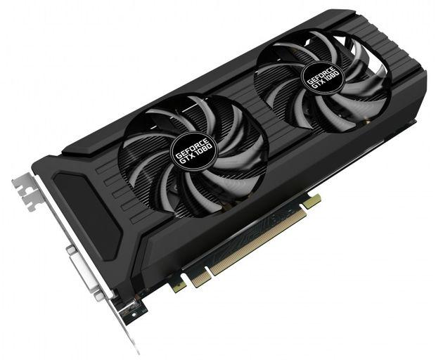 Palit GeForce GTX 1080 Dual OC karta graficzna
