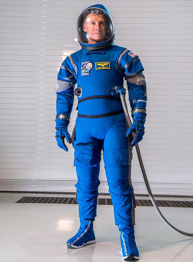 Boeing skafander astronauta