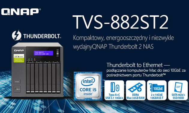 QNAP TVS-882ST2