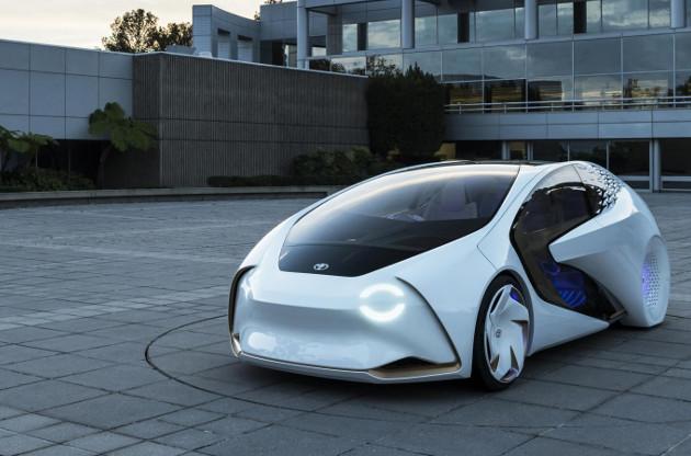 Toyota Concept-i przód