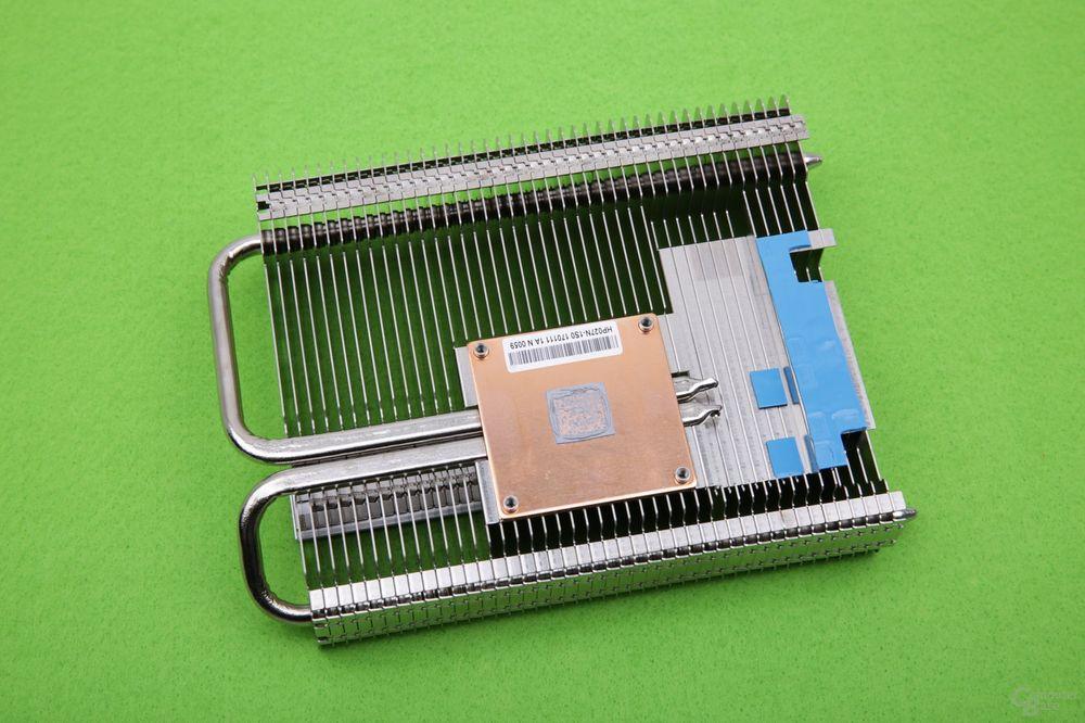 Palit GeForce GTX 1050 Ti KalmX - chłodzenie