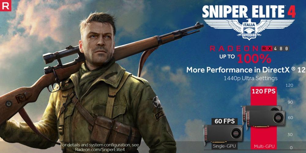 Sniper Elite 4 - wydajność