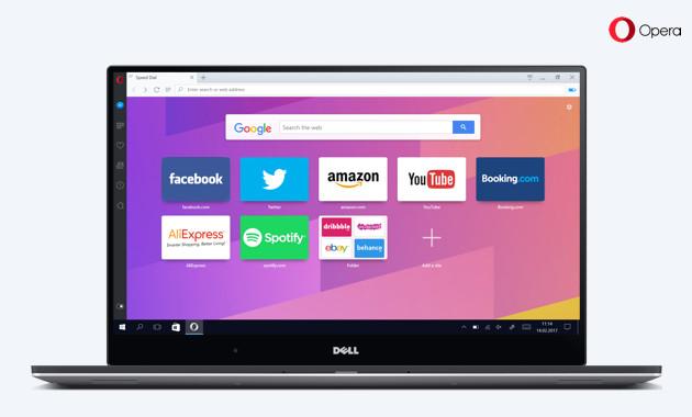 Opera Reborn laptop