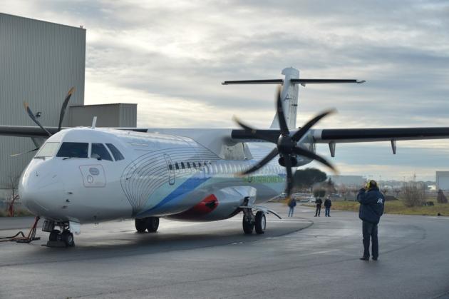 Elektryczny samolot