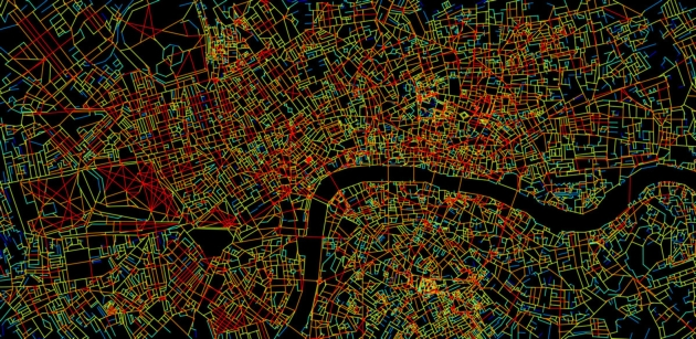Londyn siatka ulic