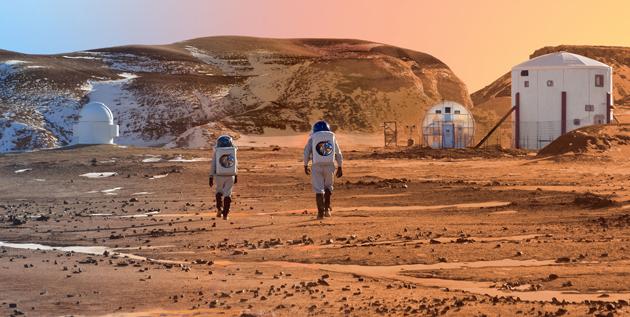 Marsjańska baza w Utah