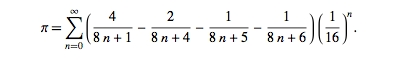 Wzór obliczanie Pi