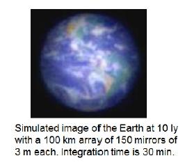 Symulacja - wygląd Ziemi