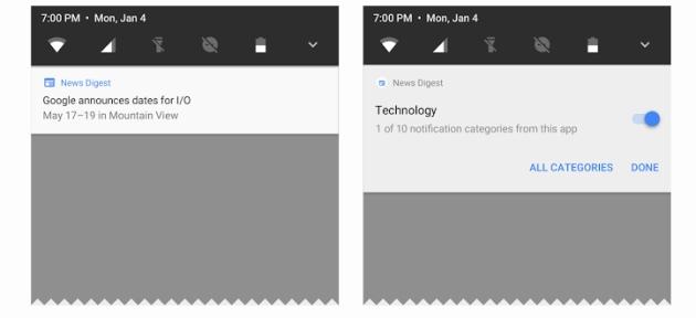 Android O powiadomienia