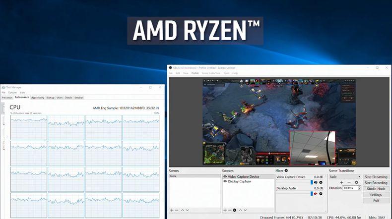 AMD Ryzen - DOTA 2