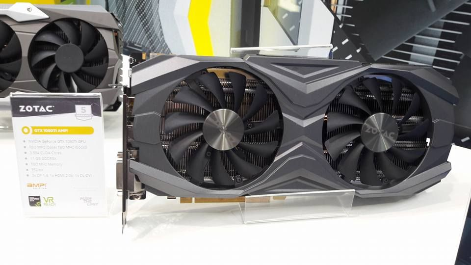 Zotac GeForce GTX 1080 Ti AMP!