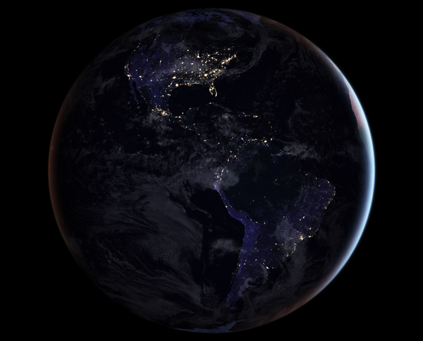 Ameryka nocą