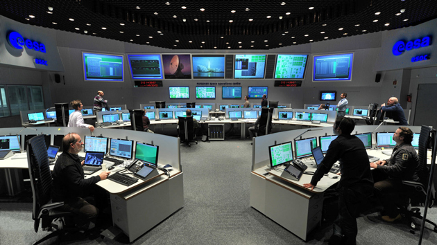 ESA Centrum Kontroli lotów