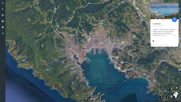 Google Earth szczęśliwy traf