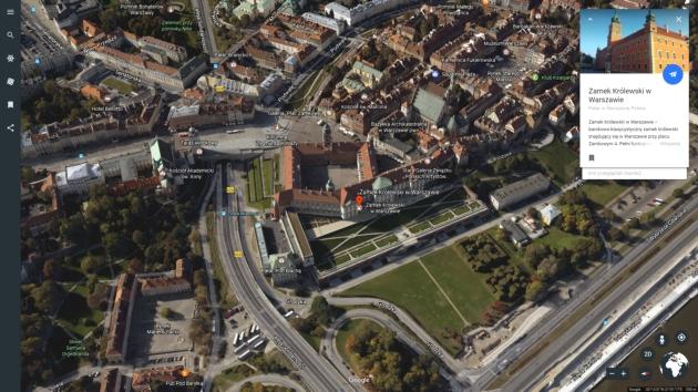 Google Earth informacje