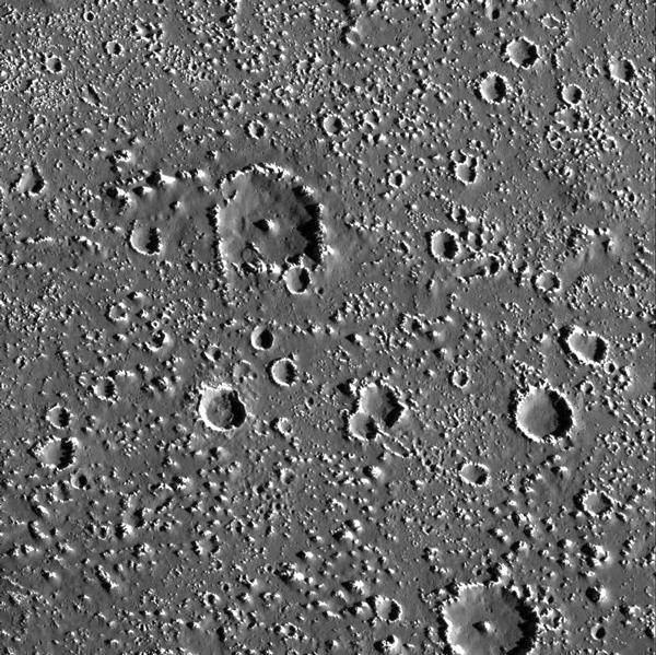Callisto kratery
