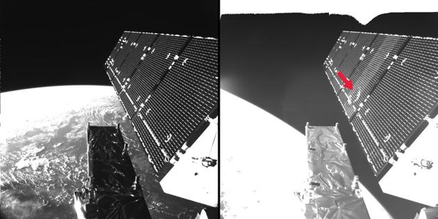 Sentinel-1A uszkodzenie