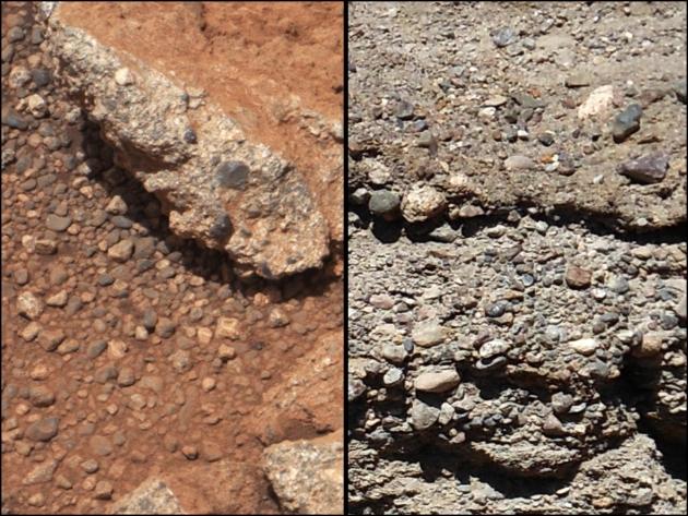 Mars kamyczki