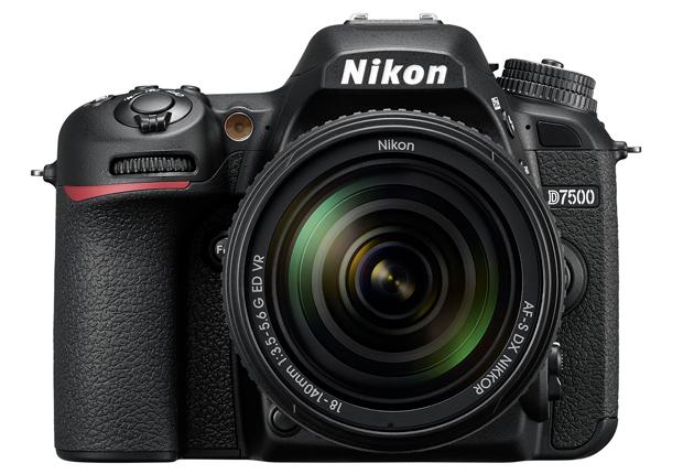 Nikon D7500 przód