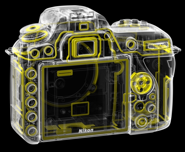 Nikon D7500 uszczelnienia