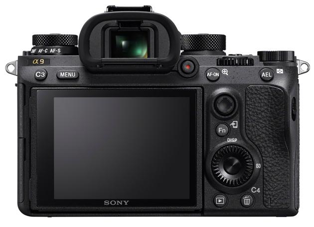 Sony A9 wizjer, ekran LCD
