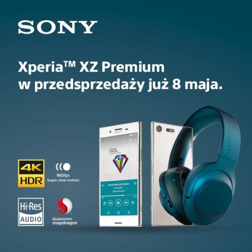 Przedsprzedaż Xperii XZ Premium