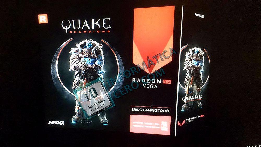 AMD Radeon RX Vega Quake Champions