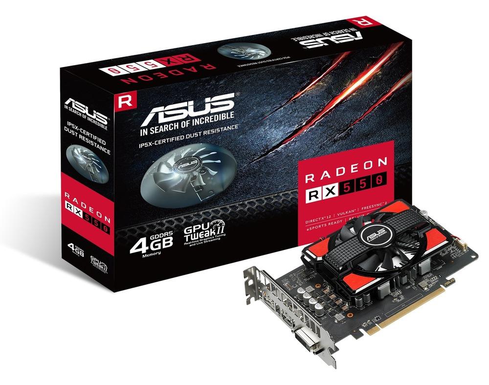 ASUS Radeon RX 550 2G