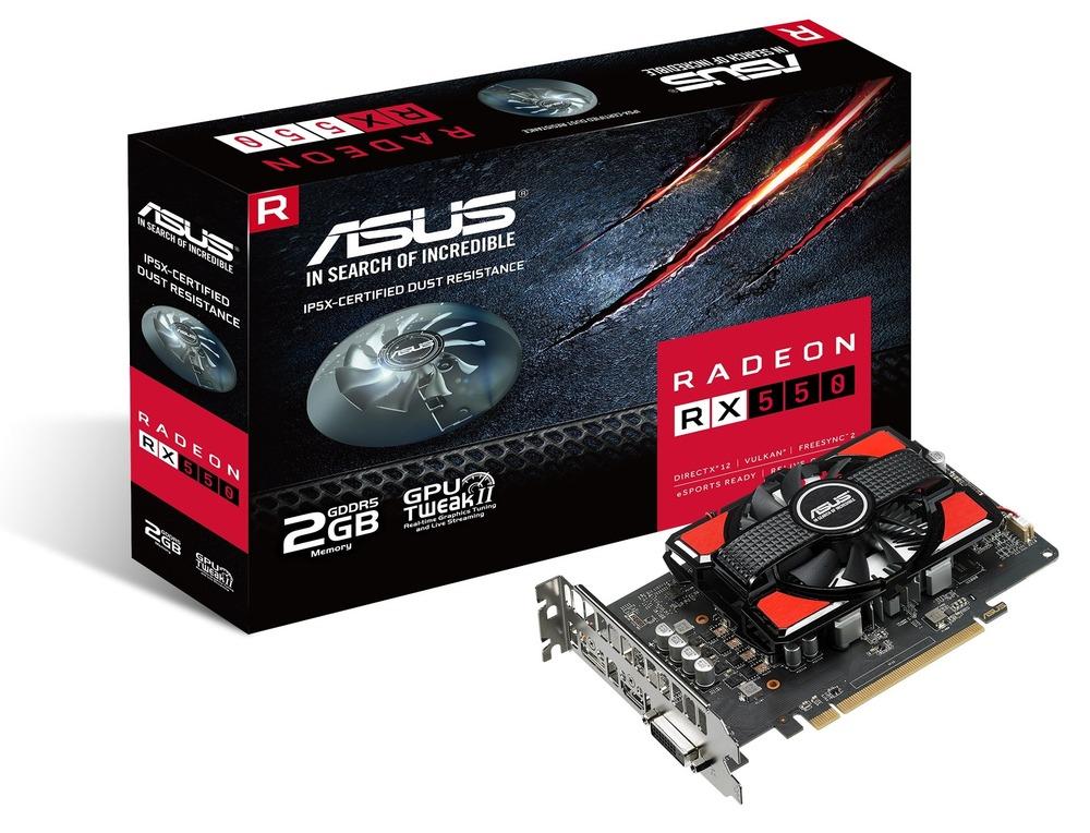 ASUS Radeon RX 550 4G