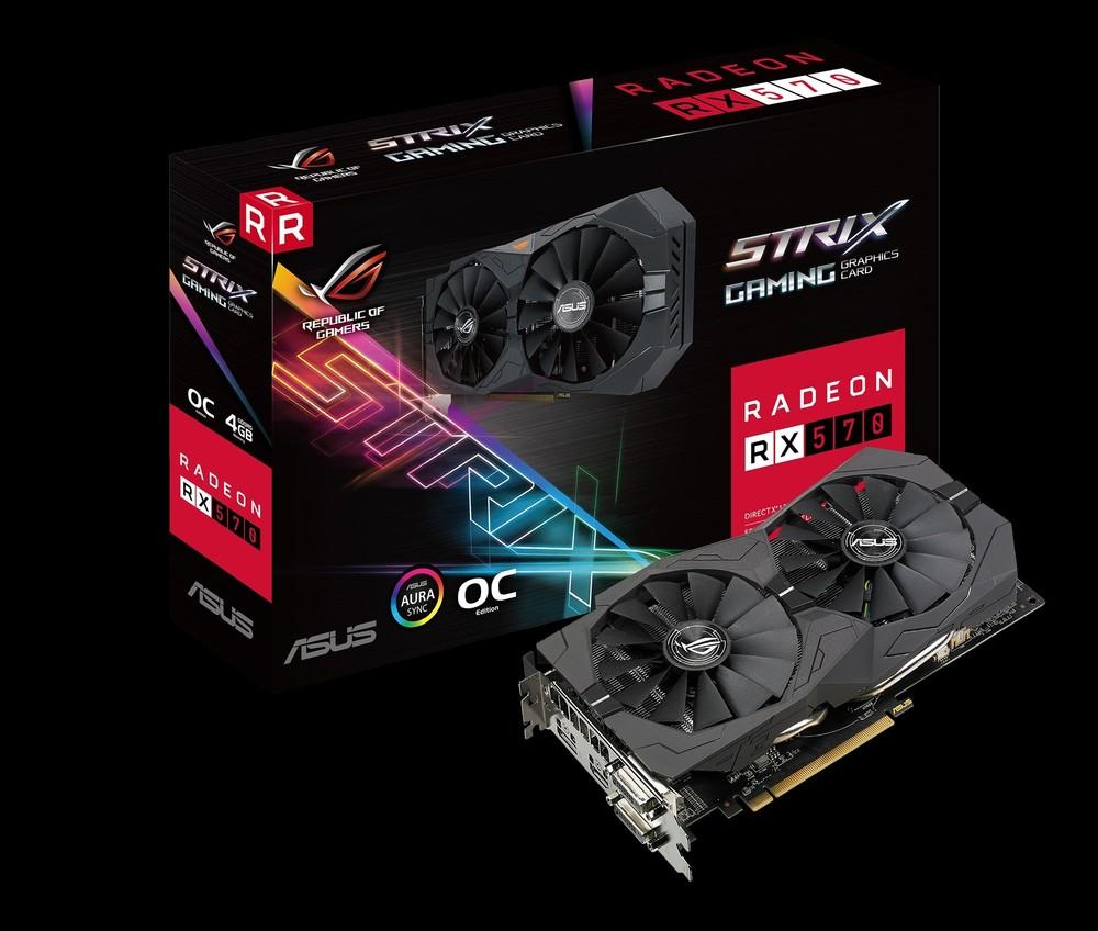 ASUS Radeon RX 570 Strix OC 4G