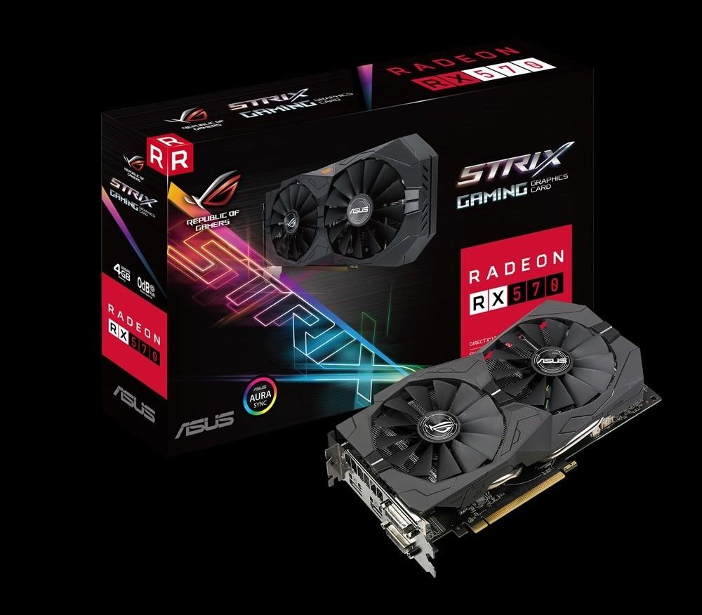 ASUS Radeon RX 570 Strix 4G