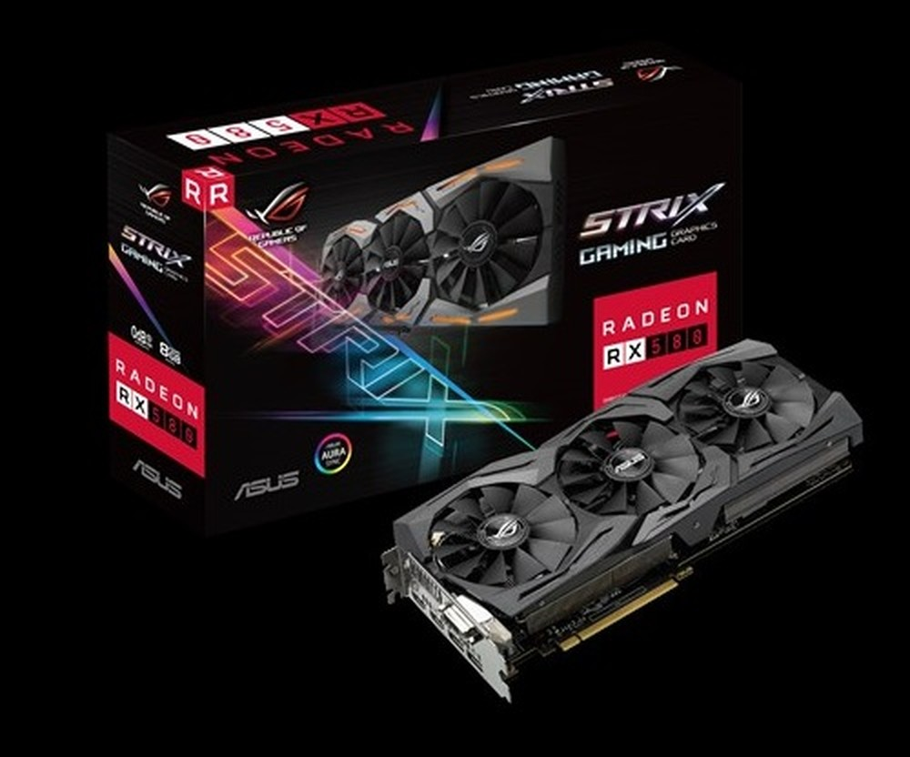 ASUS Radeon RX 580 Strix 8G