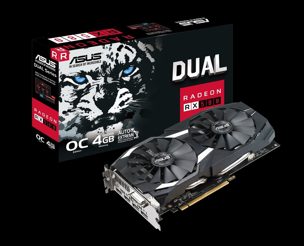 ASUS Radeon RX 580 Dual OC 4G