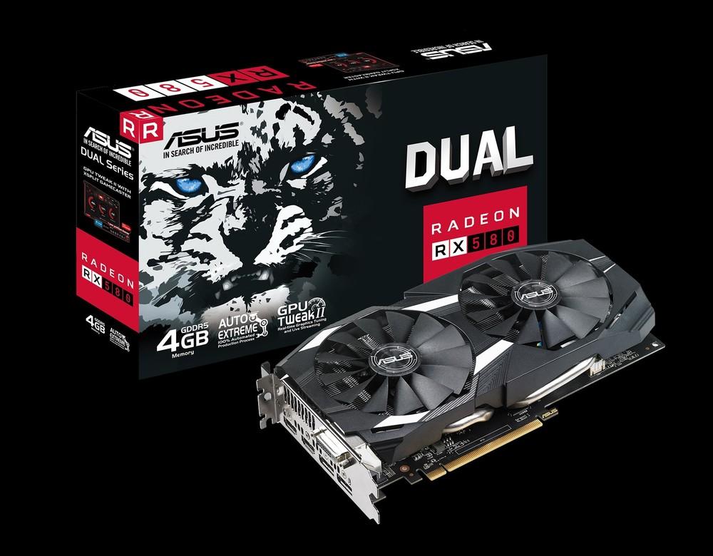 ASUS Radeon RX 580 Dual 4G