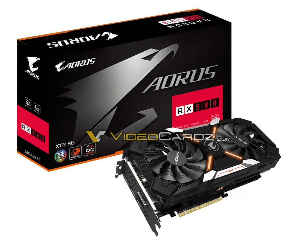 GIgabyte Radeon RX 580 Aorus XTR 8G