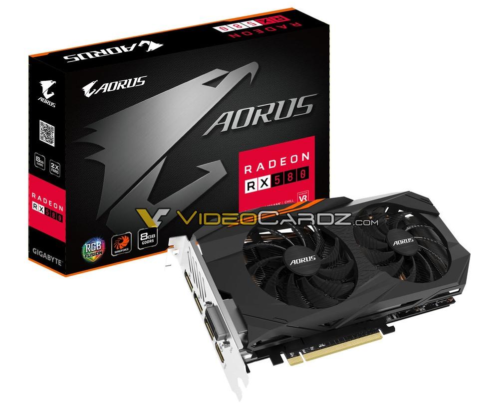 GIgabyte Radeon RX 580 Aorus 8G