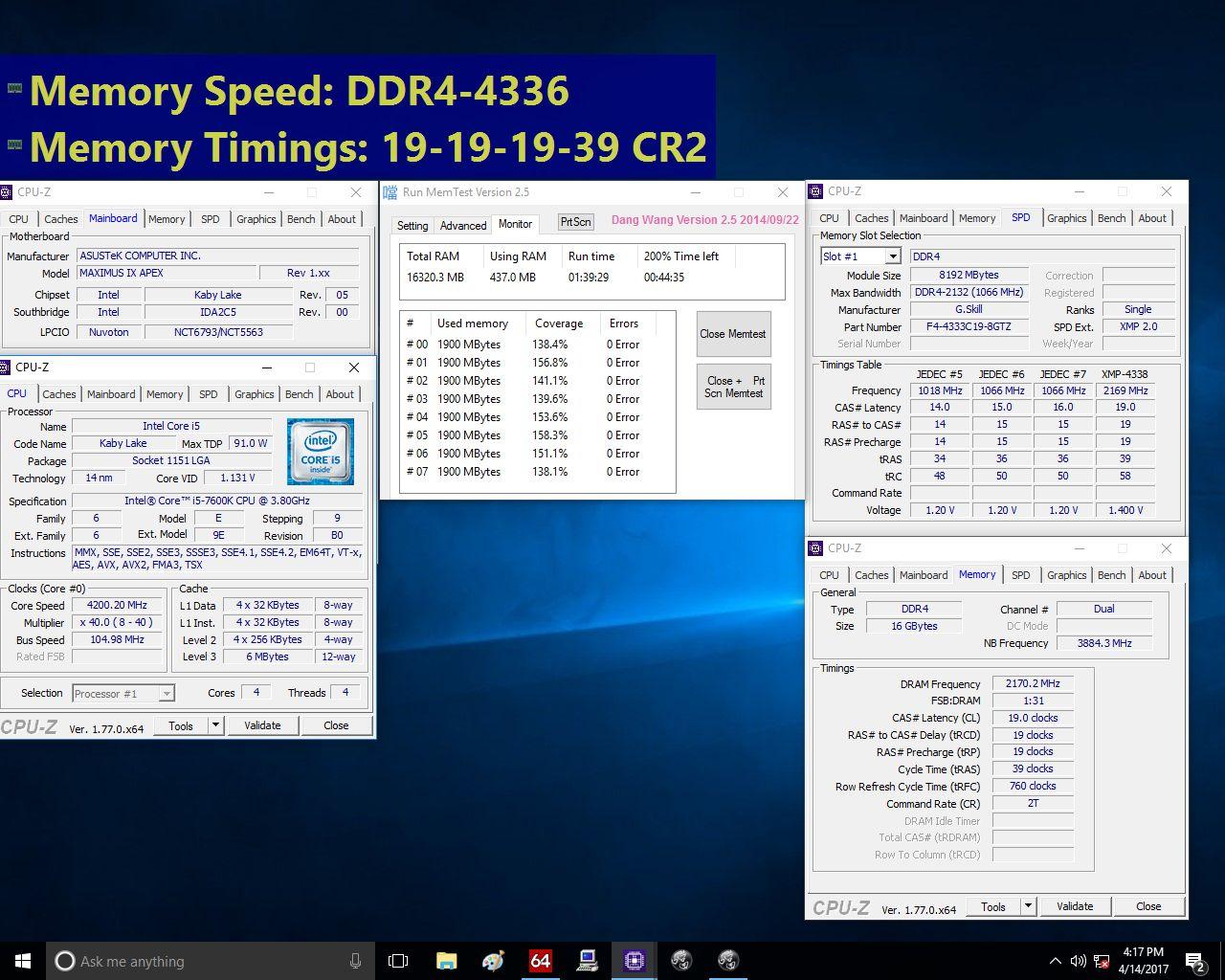 G.Skill Trident Z - pamieci DDR4 4333 MHz