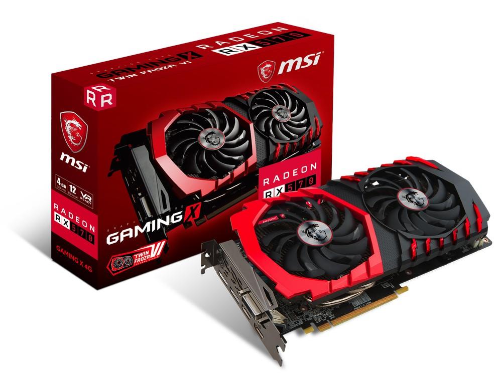 MSI Raden RX 570 Gaming X 4G