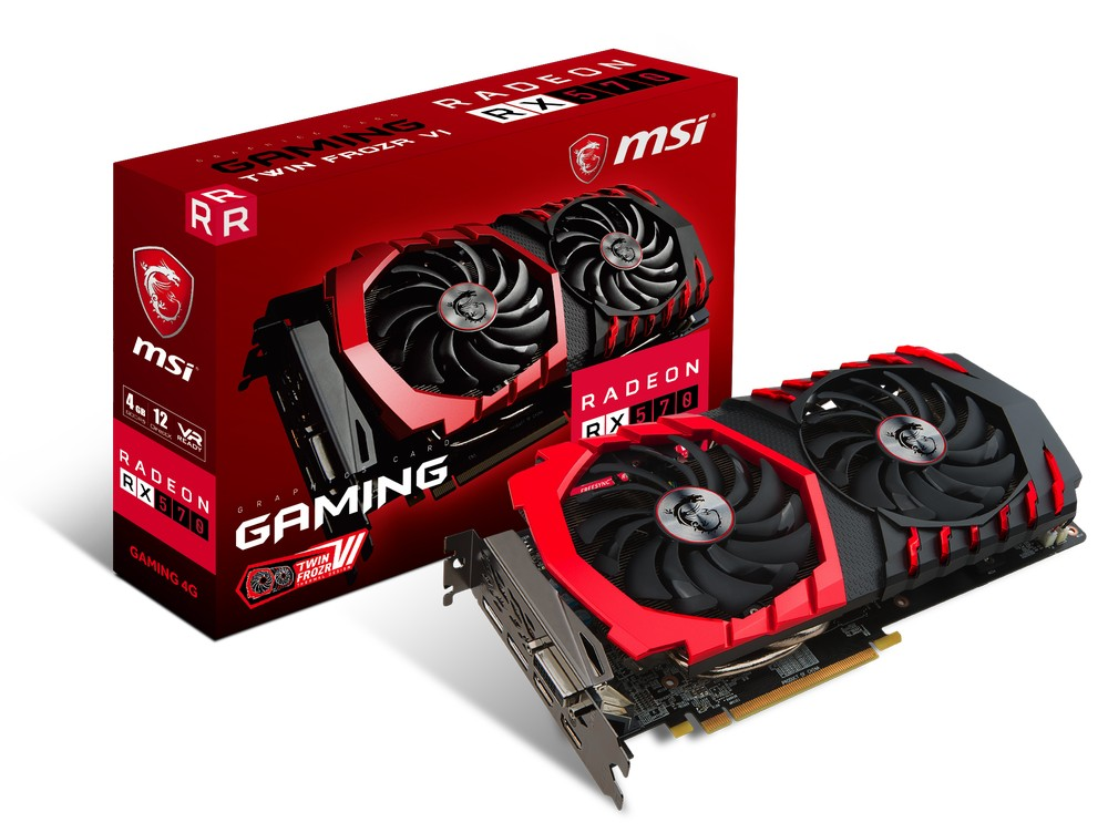 MSI Raden RX 570 Gaming 4G