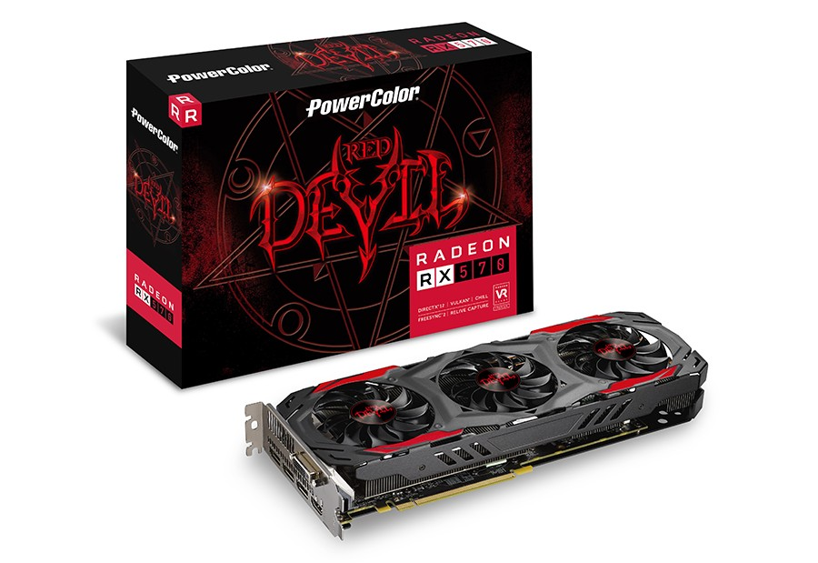 PowerColor RX 570 Red Devil 4G