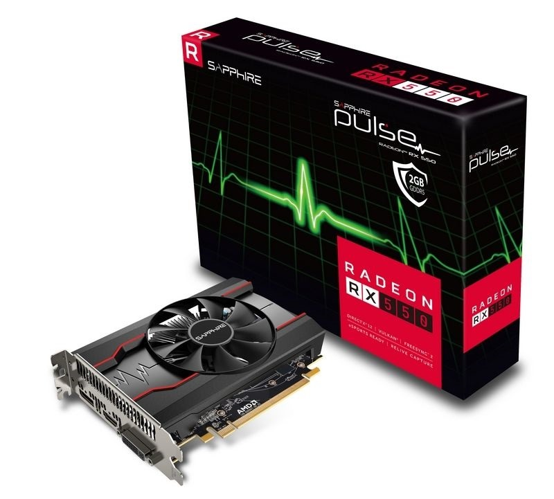 Sapphire Radeon RX 550 Pulse 2G