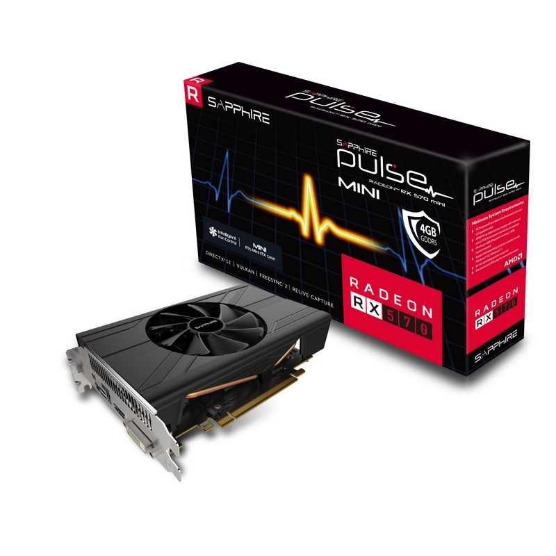 Sapphire RX 570 Pulse ITX 4G