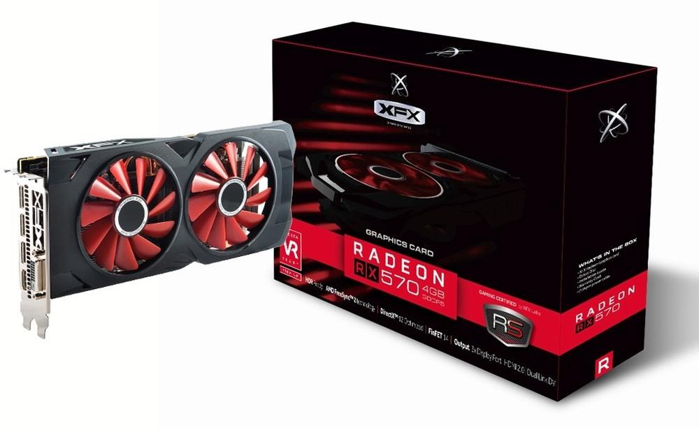 XFX Radeon RX 570 RS XXX Edition 4G