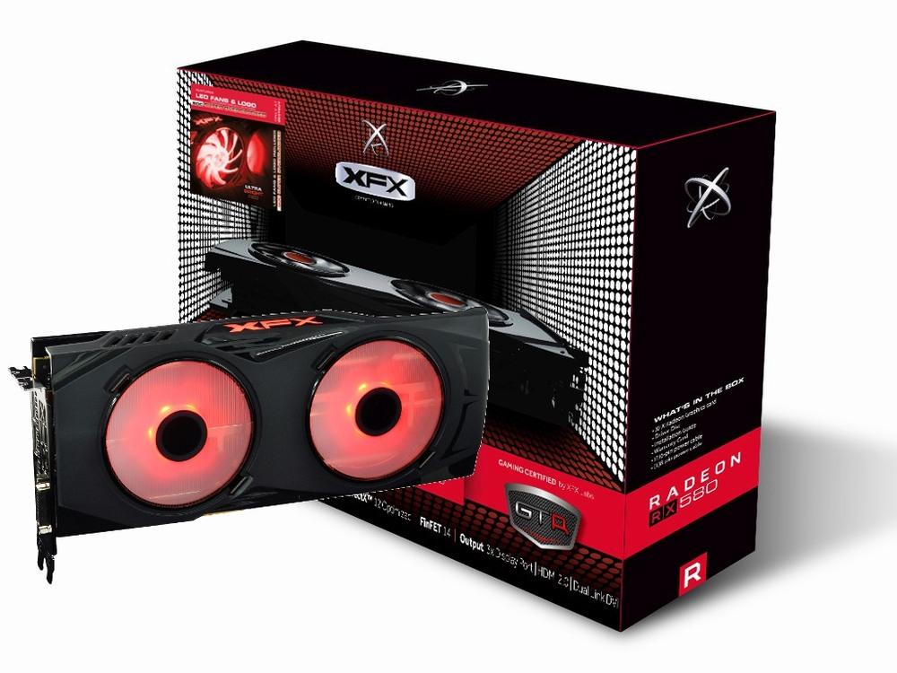 XFX Radeon RX 580 GTR-S Black Edition - Crimson 8G